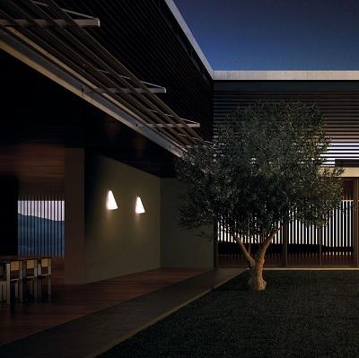 Iluminaci n exterior apliques l mparas sevilla for Plafones exterior iluminacion
