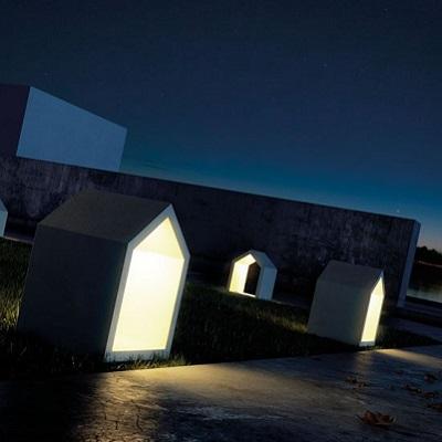 iluminacin exterior balizas